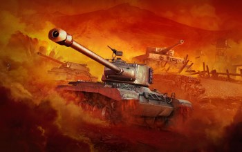 мир танков,World of Tanks: PlayStation 4,tiger i,playstation 4,wargaming net,wot,PzKpfw VI Tiger,World of tanks,M46 Patton,ис-7