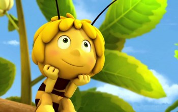Maya the Bee,Maya the Bee Movie,konoha,animated movie,leaf,animated film,sky,bee