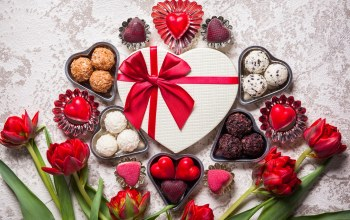 sweet,gift,Valentine`s day,chocolate,конфеты
