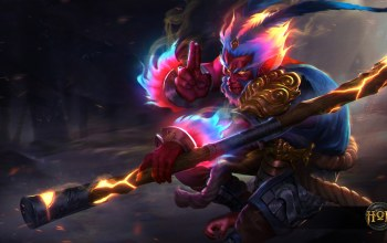 Unbound Monkey King,heroes of newerth,Monkey King,Unbound,hon