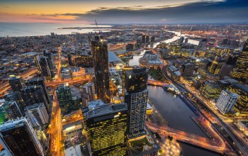 Australia,melbourne,Eureka Tower