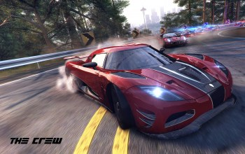 ubisoft,police,Red,The crew,koenigsegg