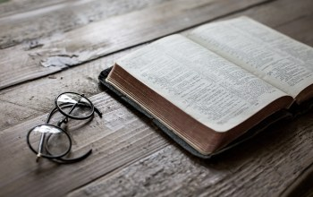 Psalm 23,calm,still life,book,glasses