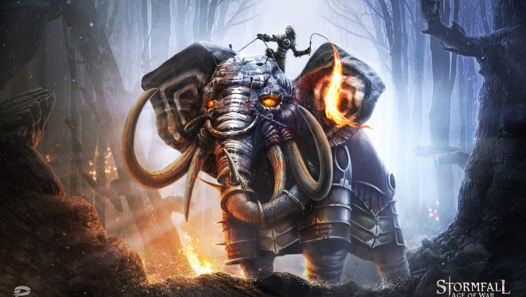 elephant,beast,Stormfall: Age Of War,whip,game,Stormfall,forest,armor