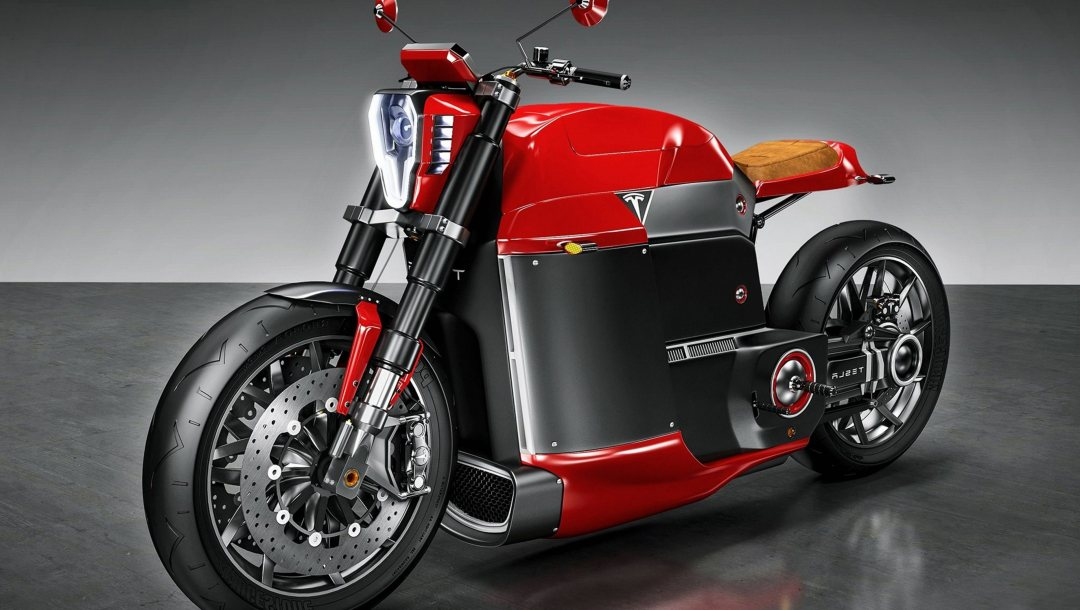 electric motorcycle,technology,electric motor,beauty on wheels,hd,fast,bold lines,motorcycle,strong,Tesla Electric Motorcycle,Tesla Model M,Speed,Red,wallpaper,concept,beautiful,powerful