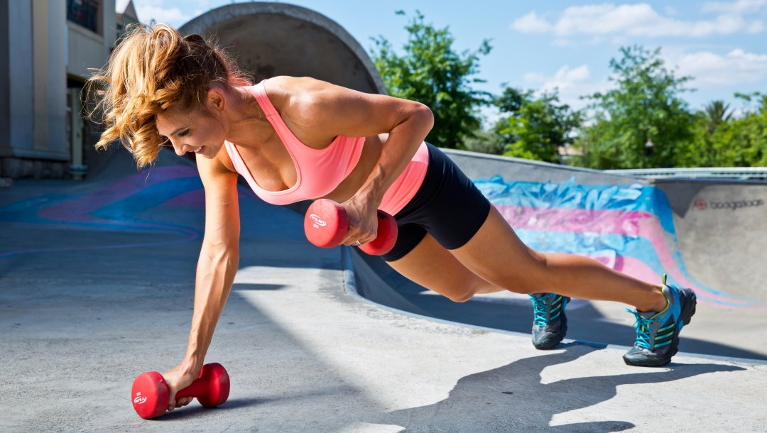 outdoor physical activity,Dumbbell,workout