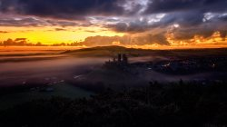 осень,The Narratographer,Corfe castle