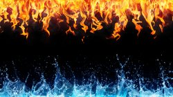 cold,water,fire