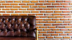 Bricks,wall,armchair