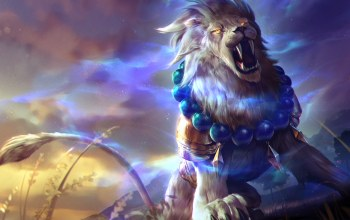 Lion of Sol,лев,Gemini,heroes of newerth