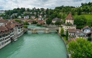 bern,здания,швейцария,Switzerland,Aare river,река Аре