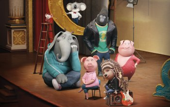 animated movie,cinema,Animal,Sing,happy,film,animated film,movie