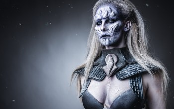 make up,female white walker,Game of thrones