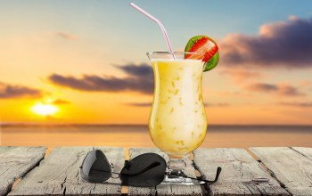 drink,paradise,beach,cocktail,коктейль,palms,vacation,summer,tropical