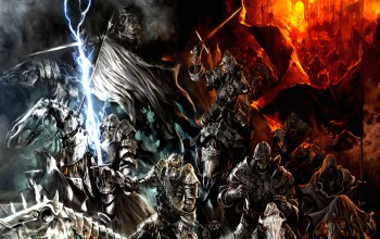 army,mountains,orcs,fire,lord of the rings