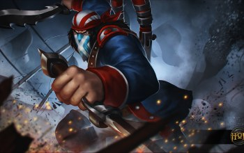 Independence day,heroes of newerth,hon,Scout,Continental Rebel