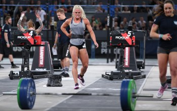 fatigue,tiredness,Sara Sigmundsdottir,Reebok CrossFit Games,competitor,blonde