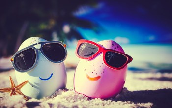 beach,funny,happy,summer,cute,glasses,eggs,tropical