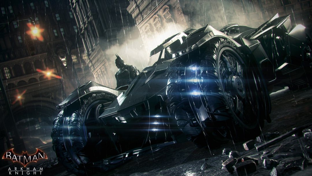 knight,arkham,batmobile