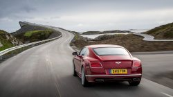 Red,bentley,continental