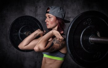 crossfit,redhead,workout