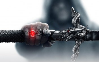inquisition,rings,dragon,sword,age,hand