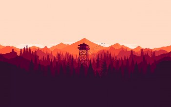 santo,campo,firewatch,game