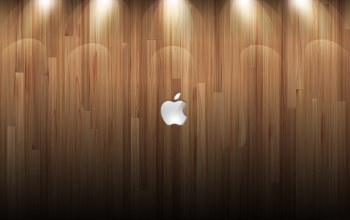wood,background,lights,apple