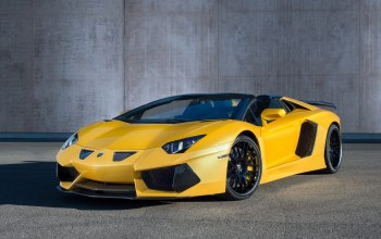 roadster,Lamborghini,yellow