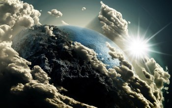 earth,clouds,space,view