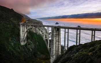 big,california,bridge,sur,creek,bixby