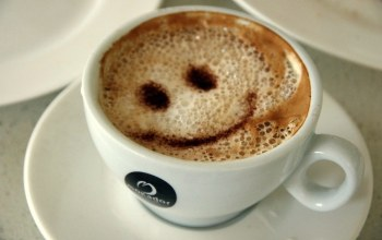 cappuccino,smile,coffee