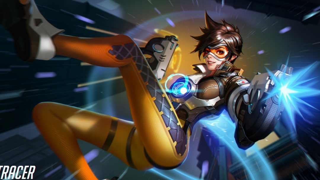Tracer,overwatch,game,blizzard entertainment