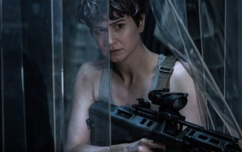 Katherine Waterston,rifle,Alien,gun,prometheus,cinema,movie,film,weapon