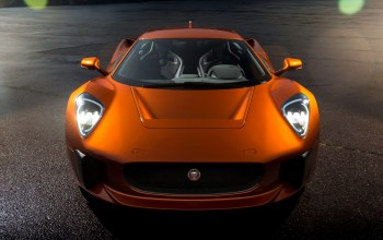 orange,Jaguar,cx75