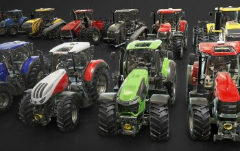 тракторы,Vehicles for the Farming Simulator Franchise,tractor garage