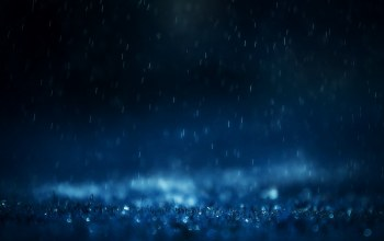 drops,close,rain,blue