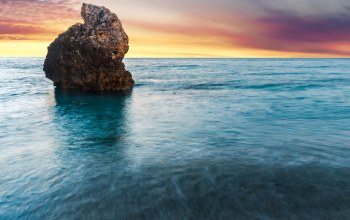 lefkada,beach,greece,rock