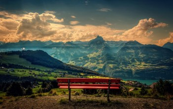 scenery,mountains,top