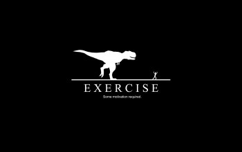 excersie,chasing,some,rex,t,dinosaur,motivation,required