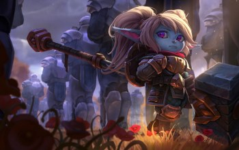 riot games,poppy,Joshua Brian Smith,league of legends,Keeper of the Hammer