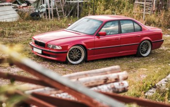 7 series,car,Bmw,stance,е38