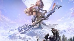 лук,action,лучница,Horizon: zero dawn,арт,постер,playstation 4,стрела,sony,rpg,Complete Edition,девушка