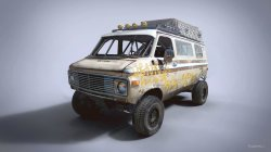 Racing Rat Van,Chevrolet G20,автомобиль