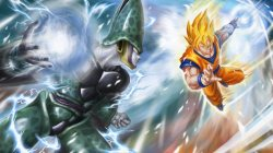 Ball,goku,dragon,z,vs,cell