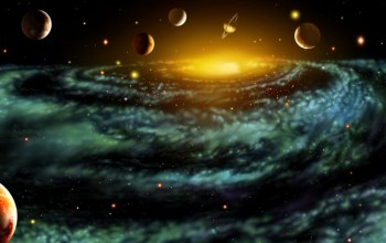 Solar,planets,outer,space,system