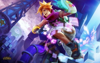 Prodigal Explorer,Ezreal,блондин,arcade ezreal,league of legends