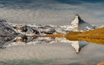 reflection,mountains