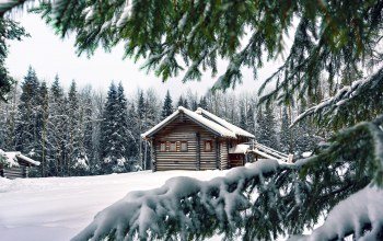 house,winter,snow,the