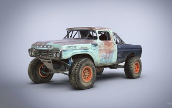 Trophy Rat,автомобиль,1959 Ford F250 stake bed ranch truck